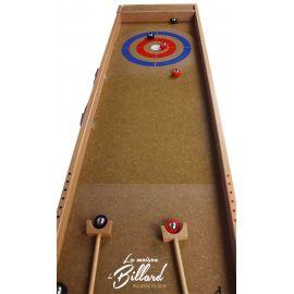 jeu de Curling en bois