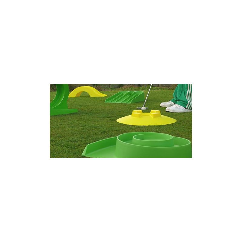 Jeu myminigolf mini golf modulable pour animation th me for Mini putt laval exterieur