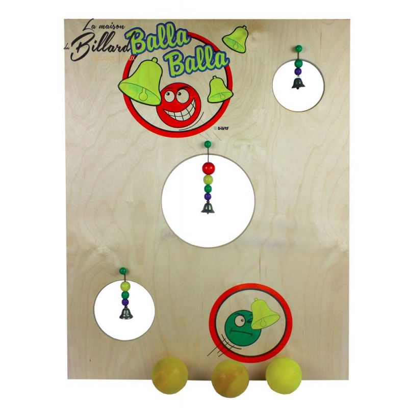 jeu kermesse balle a la cloche