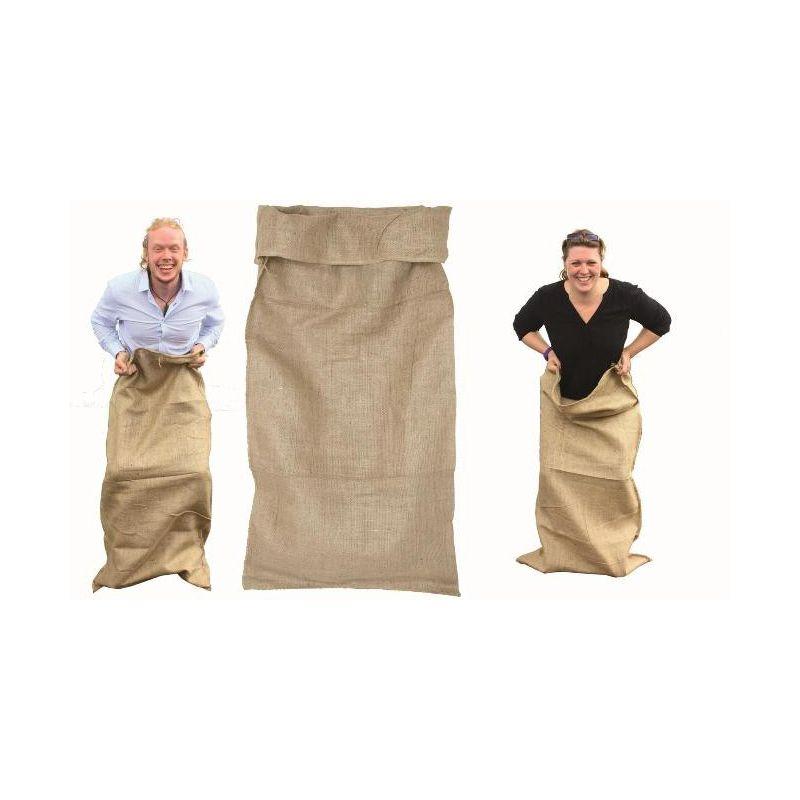 sac de jute sp cial pour jeu de course de sac. Black Bedroom Furniture Sets. Home Design Ideas