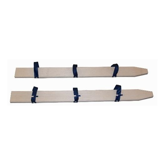 Skis de coordination pour 3 personnes