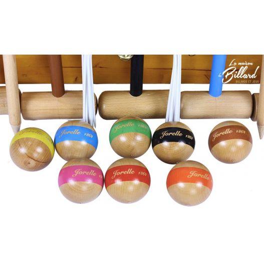jeu croquet en bois