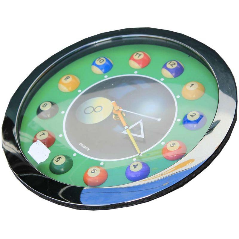 Horloge Billard 8 Pool