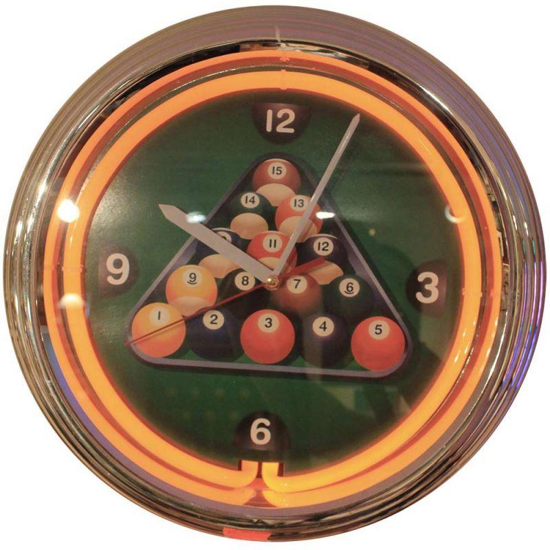 Horloge lumineuse la maison du billard for Horloge lumineuse