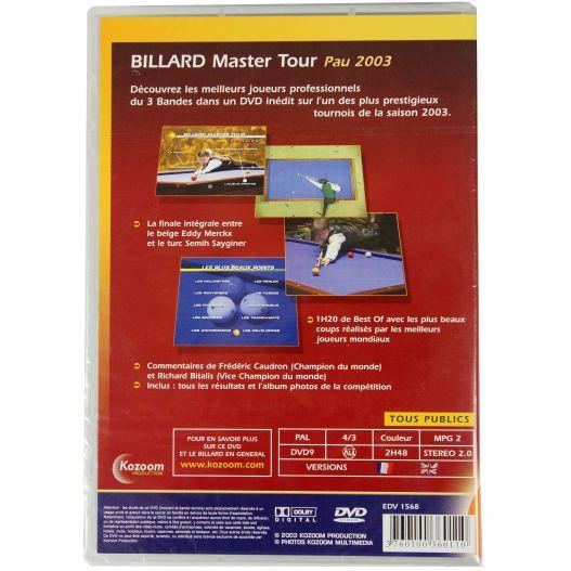 Déstockage : DVD Billard Master tour