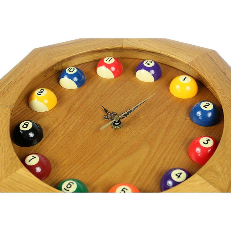 Horloge Hexagonale Bois