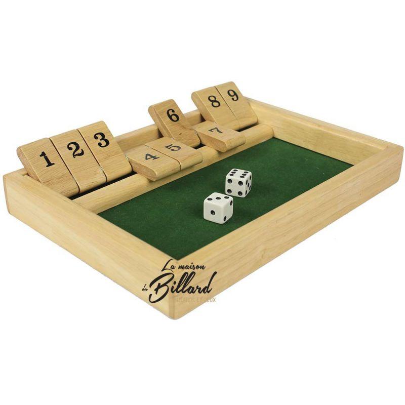 Fermez la boite de 9, shut the box