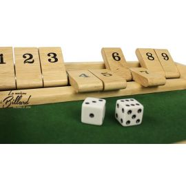 Shut the box en bois