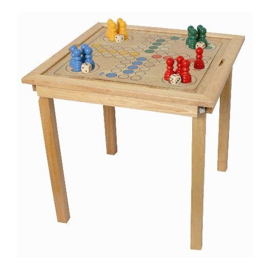 Table de jeux traditionnels
