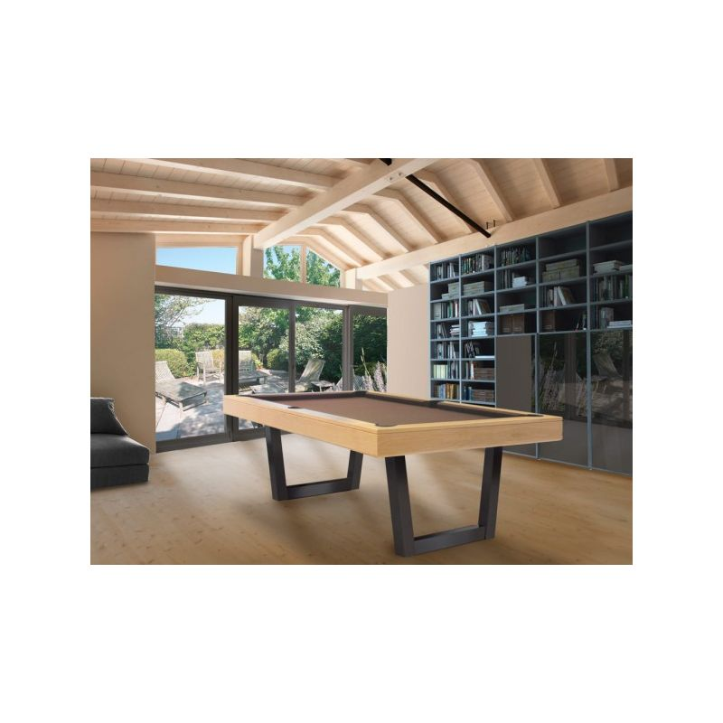 Billard harmony u inox collection excellence - Table salon transformable table salle manger ...