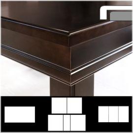 Plateau table RD avec rabat extérieur droit