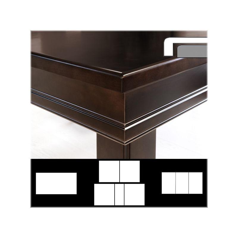 Plateau table rd avec rabat ext rieur droit la maison du - Plateau table exterieur ...