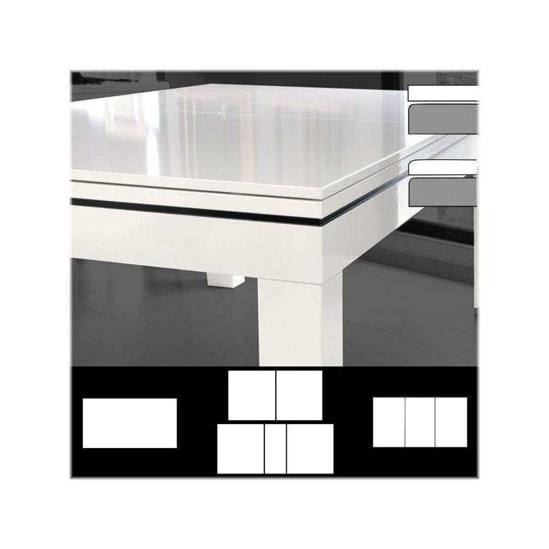 Plateau de table st bord bord laqu ou stratifi la for Stratifie laque