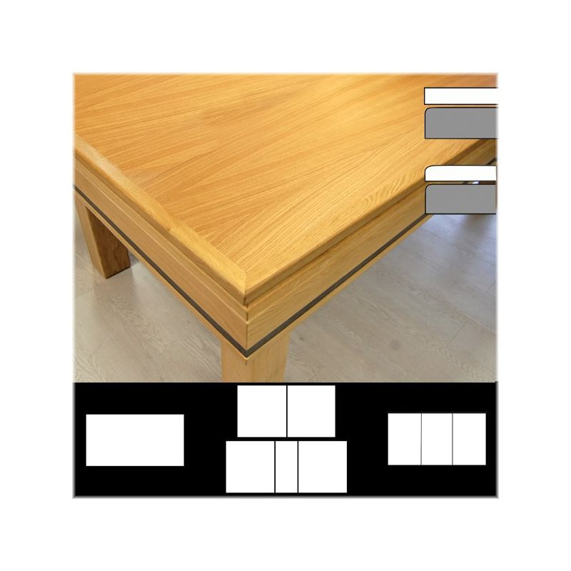Plateau table Luxe LB bord à bord