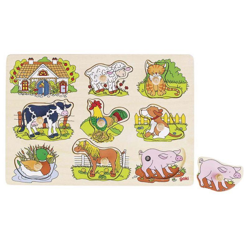 Puzzle Sonore animaux de la ferme