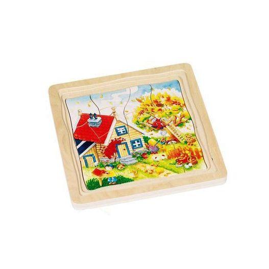 Puzzle multi-couches 4 saisons
