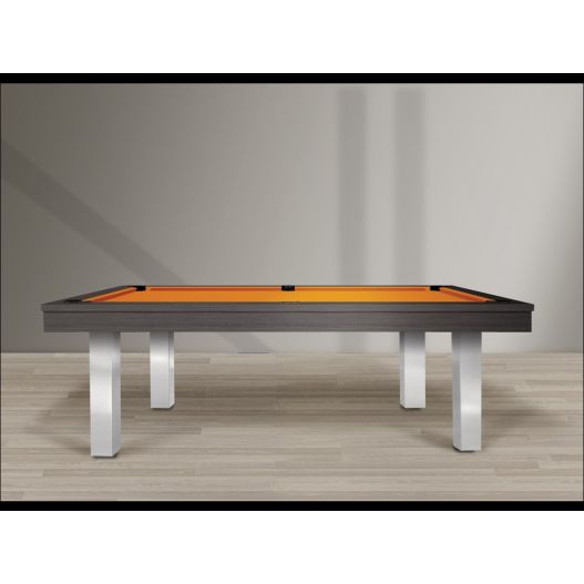 billard Feeling, finition métal brossé, Collection Prima