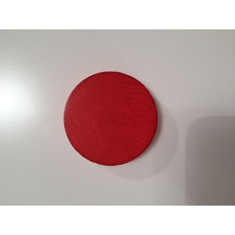 Palet en hêtre Rouge 47 mm x 13 mm