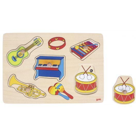 Puzzle sonore musique 5 pièces