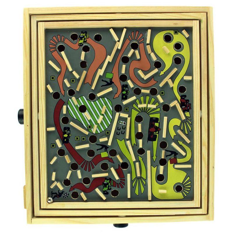 jouet en bois labyrinthe