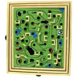Labyrinthe en bois multi jeux