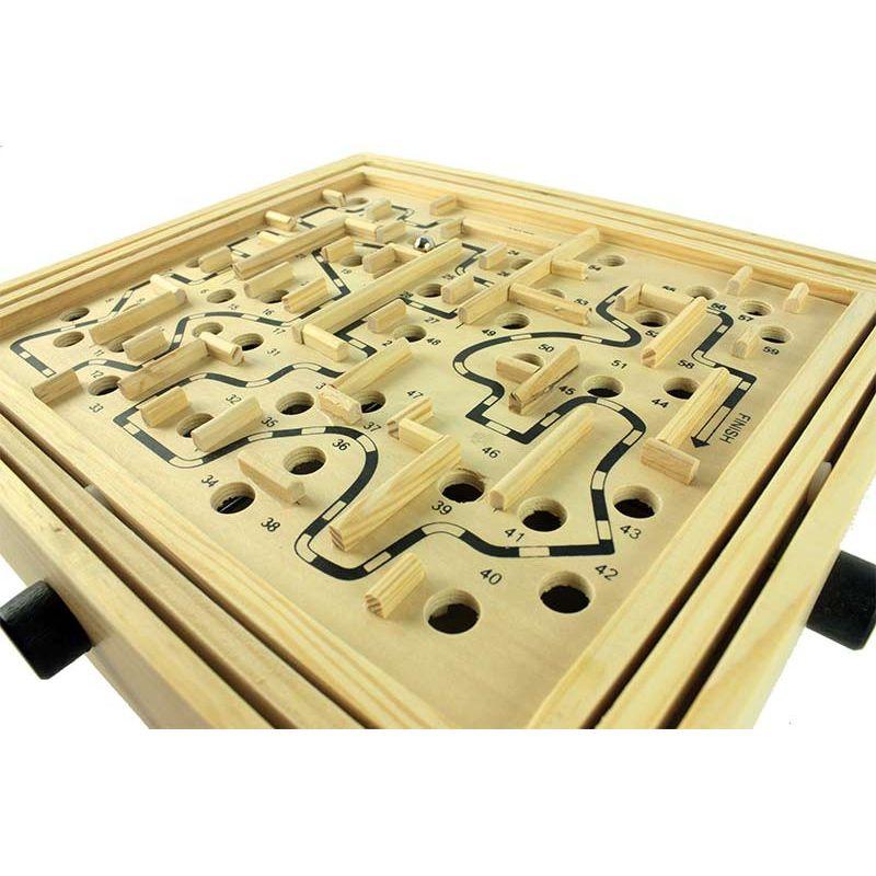 jeu labyrinthe en bois