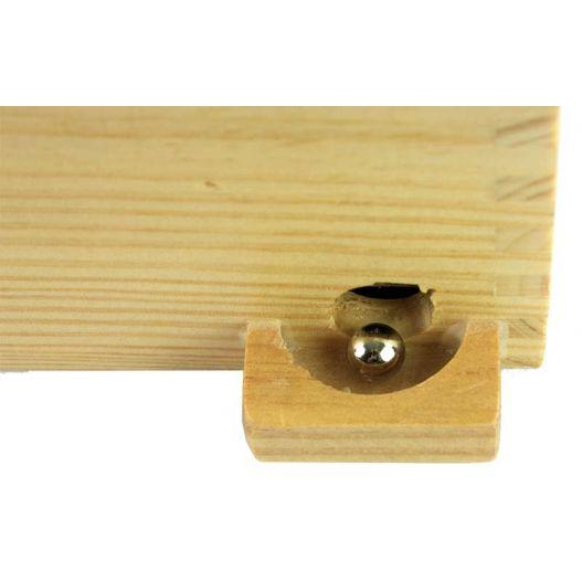 Bille jeu labyrinthe en bois