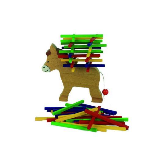 Jouet en bois animaux bourricot