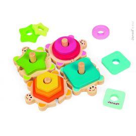 Les tortues rigolotes, le jouet premier âge amusant