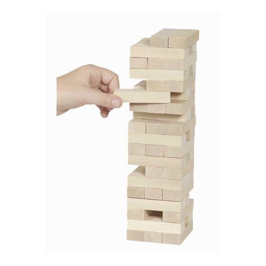 Jeu de la tour en bois