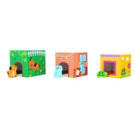 empile cubes animaux - Jouet pour enfant de 1 ans