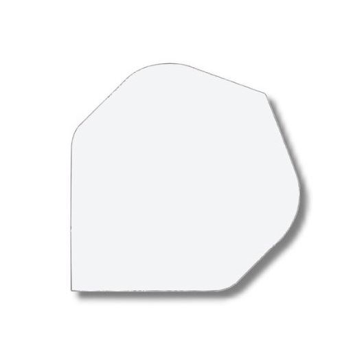 Ailettes nylon Large blanc