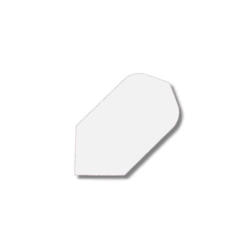 Ailettes Nylon Etroite blanc