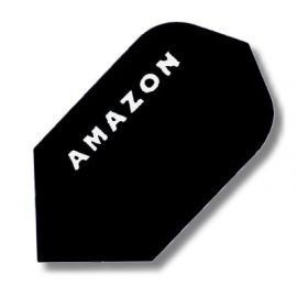 Ailettes Amazon Etroite noir