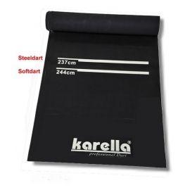 Tapis Karella PVC Prenium noir