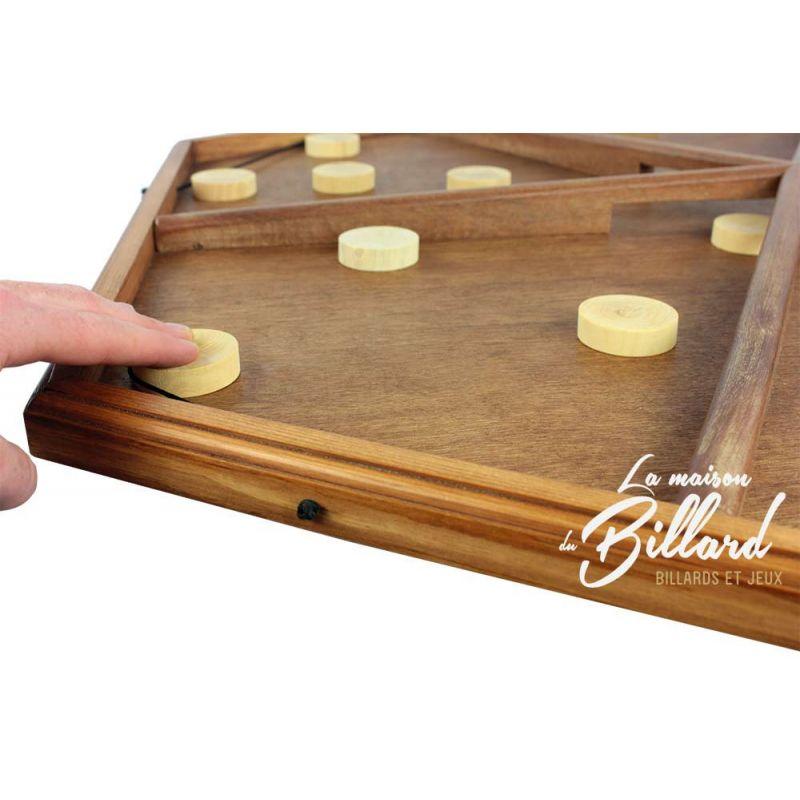 table lastique 6 joueurs videz votre camp des palets. Black Bedroom Furniture Sets. Home Design Ideas