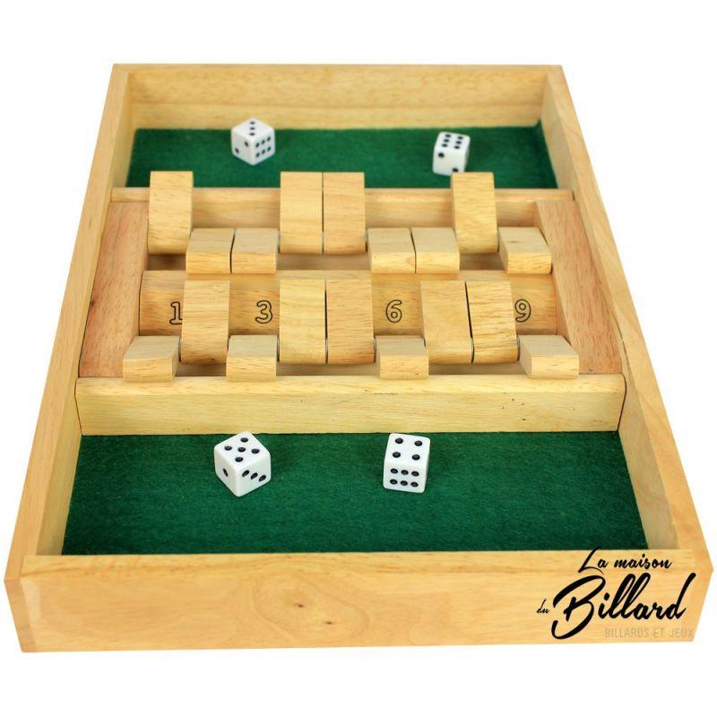 Fermez la boîte 2 joueurs, Shut the box