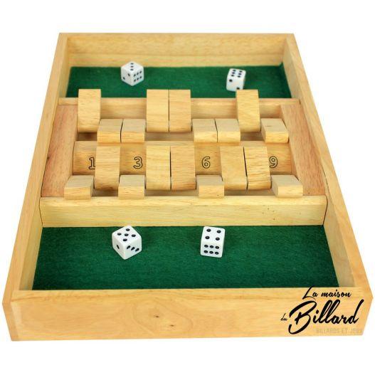 Shut the box 2 joueurs