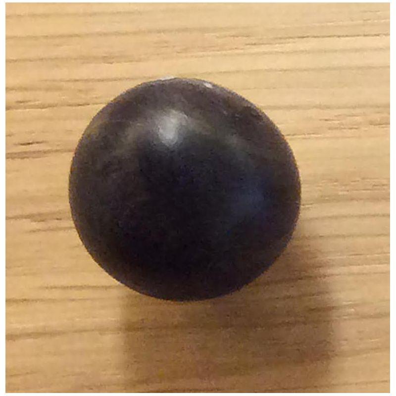 Bille en buis 20 mm Noir