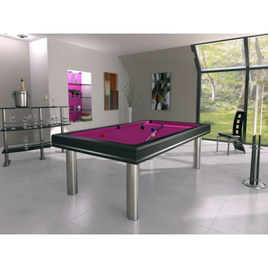 billard Steel - Harmony O, collection Excellence, acier Inox