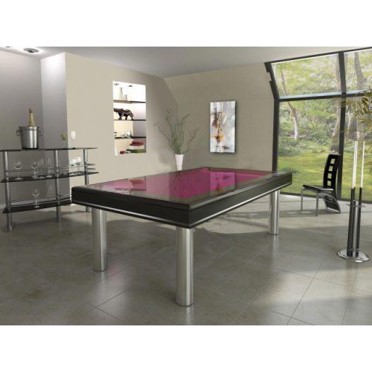 billard Steel - Harmony O, collection Excellence, acier Inox