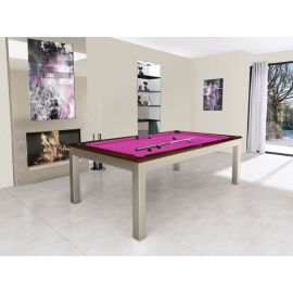 Billard transformable en table : Steel Tendance, collection Excellence
