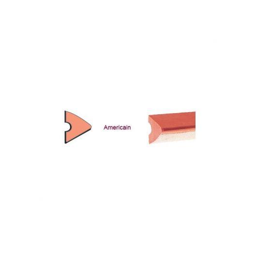 Jeu  de 6 bandes triangulaire toilées 122 cm