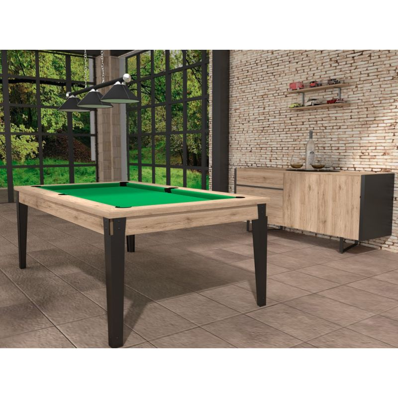 billard table style industriel id al appartement loft style industriel. Black Bedroom Furniture Sets. Home Design Ideas