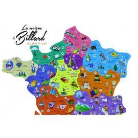 Carte de france puzzle