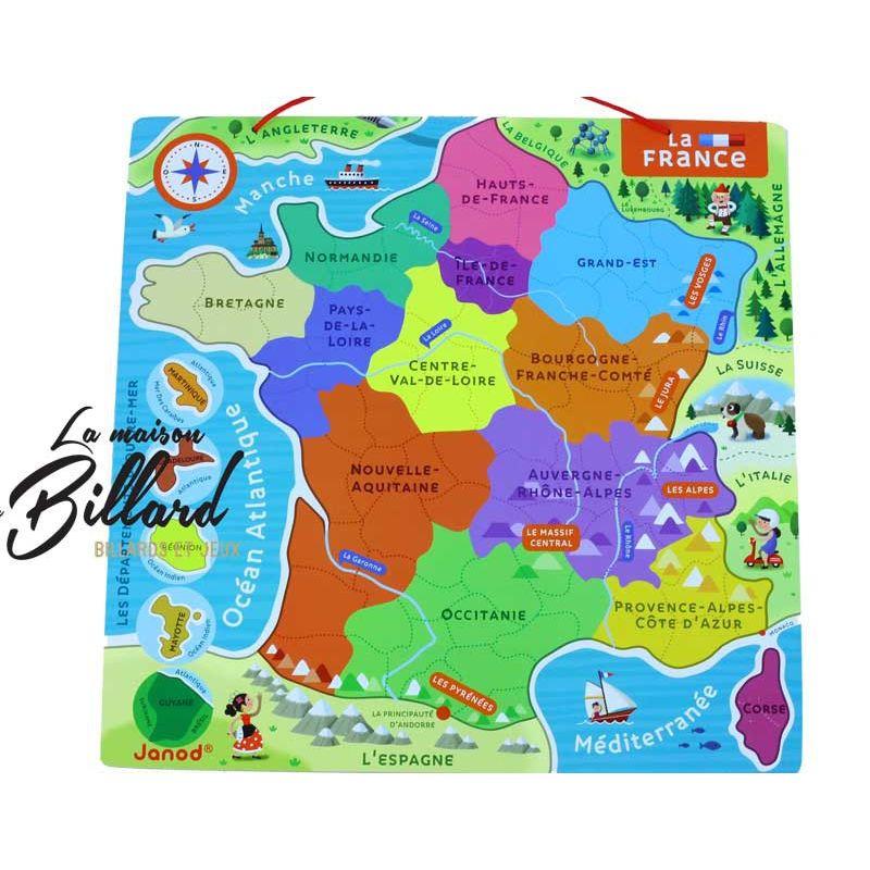 Puzzle région France
