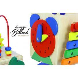 Cube actif soleil - Station multi-jeux enfants