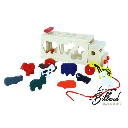 Animacar - jouet en bois pour enfant
