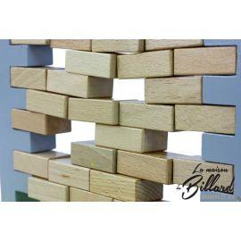 Brique poule - Mur bancal