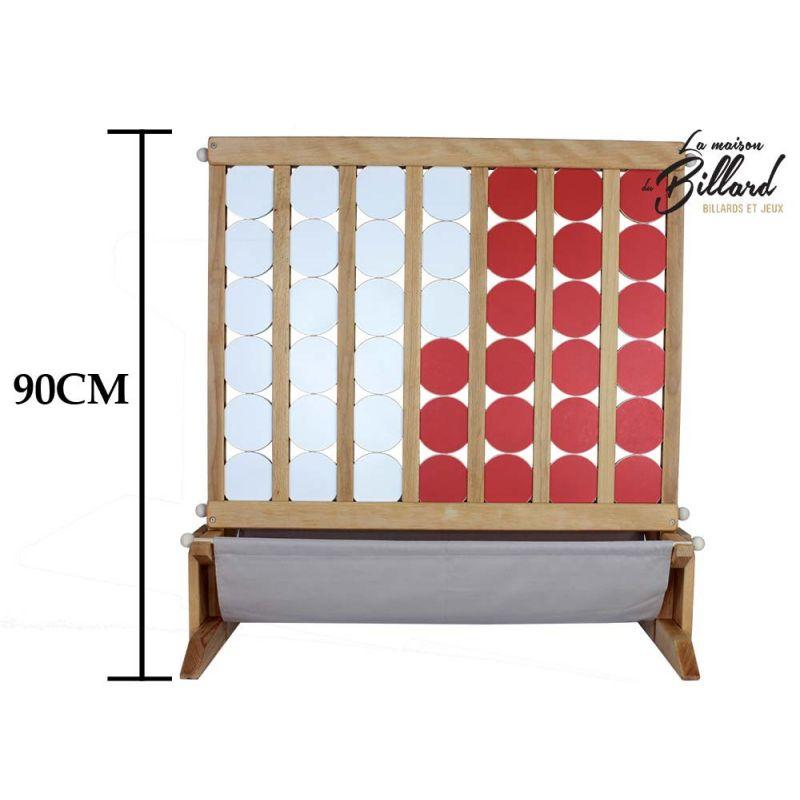 puissance 4 g ant en bois jeu en bois geant pour animations. Black Bedroom Furniture Sets. Home Design Ideas